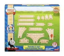 Thomas Friends Train Wooden Railway Figure-8 Set Expansion Tracks Fisher-Price