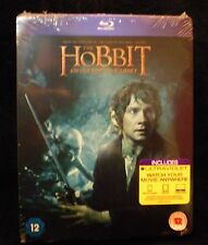 The Hobbit: An Unexpected Journey - Blu-Ray Steelbook Rare UK Exclusive - New