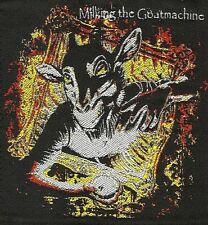 MILKING THE GOATMACHINE - Clockwork Udder - Aufnäher / Patch - Neu #4768