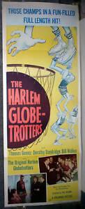 HARLEM GLOBETROTTERS original 1951 movie poster DOROTHY DANDRIDGE/MARQUES HAYNES