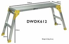 ProDec 1200mm Long Aluminium Work Platform Step up Workstand Hop Bench DWDK612
