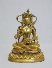 Chinese Gilt Bronze Buddha Figure With Mark    M1464