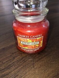 Yankee Candle AUTUMN LEAVES 14.5 oz Candle ~ FREE SHIPPING