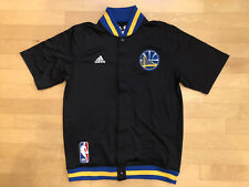 Golden State Warriors Authentic On Court Warm Up Adidas Slate Jacket Size Xl