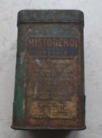 Ancienne boite métal tôle Histogénol Concentration Double