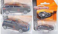 Majorette 212084009 Mercedes-Benz A-Klasse, schwarz, Nr. 9/18, RACING CARS