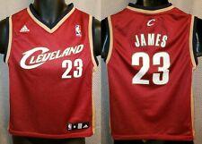 Cleveland Cavaliers LeBron James Adidas Rookie Jersey 2003 - Boys Medium