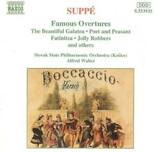 Suppé - Famous Overtures (CD 1996) Naxos 8.553935; Alfred Walter