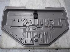 OEM 88-94 BMW 750iL Factory Original Silber(Silver) Trunk Tool Kit Storage Panel