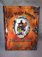 Beeula the Witch Book The Magic Sceptre 2008 Signed 1st Edition Halloween Kids
