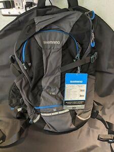 Shimano Computer Day Pack 15L Black/Lightening Blue