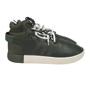 Adidas Tubular Invader Shoes Mens 10 Green Strap Sneakers Basketball UK 9.5