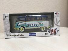 VW 1960 Microbus Deluxe USA Model R M2Machines 2018 Chase Gold Rims Volkswagen