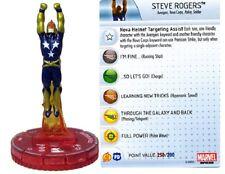 Marvel Heroclix Avengers Montar Steve Rogers (Nova Corps) #061 Chaser