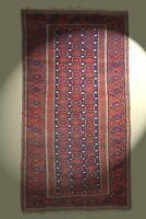 Antik Belutsch Nomaden Teppich 205x110 Orientteppich rug tapis tappeto alfombra
