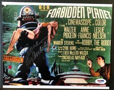 """ANNE FRANCIS """"FORBIDDEN PLANET"""" SIGNED 8x10 PHOTO AUTHENTIC PSA DNA REPRINT"""