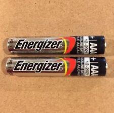 Pack of 2 Energizer E96 AAAA BULK Alkaline Batteries 1.5V EXP:12/2021 USA SELLER