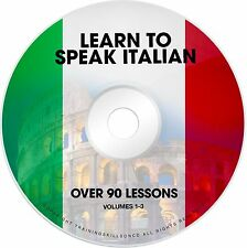 LEARN TO SPEAK BASIC ITALIAN Language Phrase Words PDF ebooks on CD