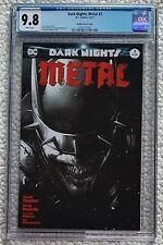 Dark Nights: Metal #3 (2017) Mattina Sketch Variant CGC 9.8 ! Batman Who Laughs