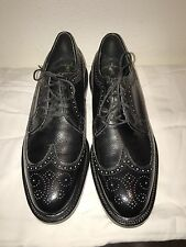 Brogue Wingtip Oxford Dress Shoes 9.5B Black New!! EXECUTIVE IMPERIAL by MASON