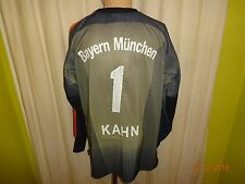 "FC Bayern München Adidas Torwart Trikot ""-T---Mobile-"" + Nr.1 Kahn Gr.L- XL TOP"