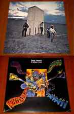 THE WHO 2x LP VINYL Lot A QUICK ONE & WHO'S NEXT *EU* PRESSINGS REMASTERED New