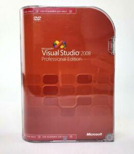 Microsoft Visual Studio 2008 Professional Edition - Academic License - With Key