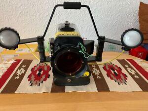 Profi Unterwasser Videokamera komplett mit Licht und viel Zubehör