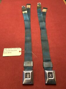 1971 Original GM Oldsmobile, Chevy, Pontiac, Buick Deluxe Blue Seatbelts