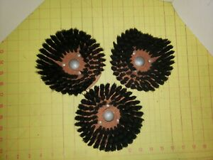 Vintage Electrolux Floor Scrubber Brushes 9735-4 Set Of 3