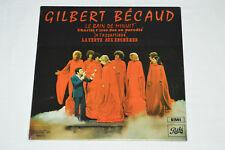 GILBERT BECAUD Le Bain de Minuit LP NEW SEALED Pathe EMI Canada SPAM-67.335