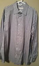 Pronto Uomo 2XLT Long Sleeve Button Front Men's Casual Dress Shirt