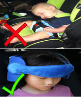 Infant Baby Head Safety Straps Children Neck Support Car Seat Covers Sleep Contr