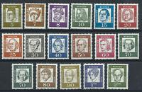 Allemagne - RFA N°220/34** (MNH) 1961 - Allemands célèbres