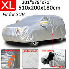 Full Car Cover Waterproof Uv Protection With Zipper For Toyota 4runner Highlander Fits Jeep