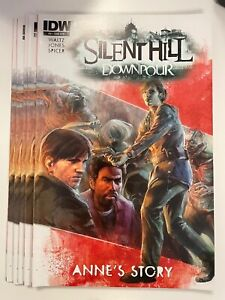 IDW SILENT HILL DOWNPOUR : ANNE'S STORY #4 SUB COVER : 5-COPY LOT : NM CONDITION