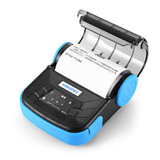 Portable 80mm Bluetooth Thermal Printer For Android IOS Mini Mobile Printer