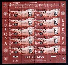 Isle of Man 1985 postfrisch Bogen Satz MiNr. 278-281 Europäisches Jahr der Musik