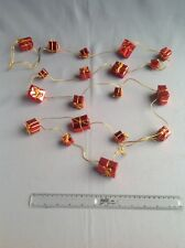 Gold And Red Parcel Christmas Garland