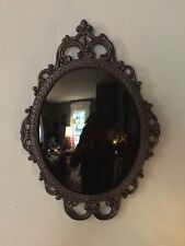 """Vintage Large Style Scrying Mirror 12"""" x 17"""""""