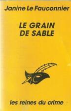 JANINE LE FAUCONNIER LE GRAIN DE SABLE  LE MASQUE