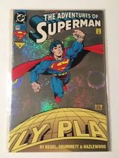 The Adventures of Superman #505 VF Holographic Foil Cover (1993) DC Comics / NM