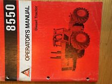 ALLIS CHALMERS ALLIS-CHALMERS 8550 OPERATOR OPERATOR'S TRACTOR MANUAL