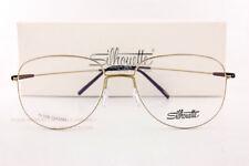 708692280a New Silhouette Eyeglass Frames Dynamics Colorwave 5507 5640 Brass  Shiny Black