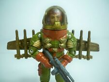 D051521 HAWK GI JOE 1991 VERSION WITH CUSTOM JET PACK WITH ROCKETS 100% COMPLETE