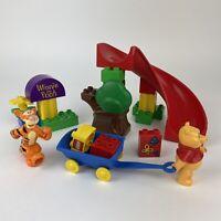 Lego Duplo Winnie the Pooh - Tigger's Slippery Slide Set 2985 - Retired Playset