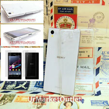 Screen Protector + Ultra Thin Clear Hard Case Cover For Sony Xperia Z1 L39H