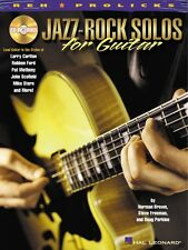 Jazz-Rock Solos for Guitar - Lead Guitar in the Styles of Carlton Ford 000695449