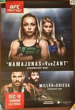 Official UFC UFN 80 Namajunas vs VanZant Poster 27x39 (Near Mint)