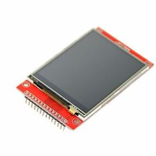 "LCD Touch Panel 240 x 320 2.8"" SPI TFT Serial Port Module With PBC ILI9341 Red O"